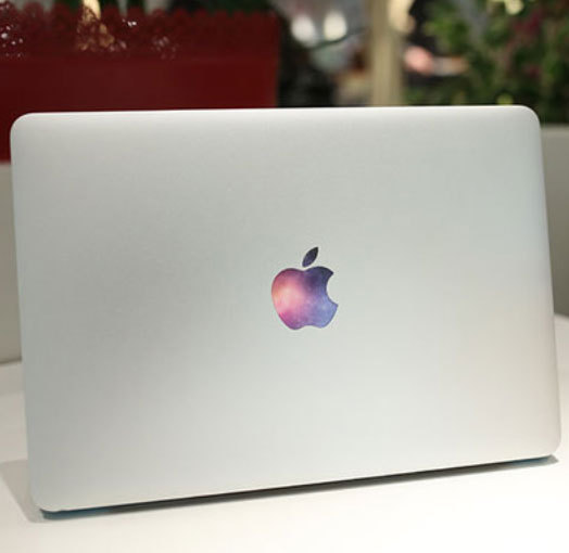 New 2015 3d universe diy vinyl decal notebook logo stickers for apple macbook pro air retina