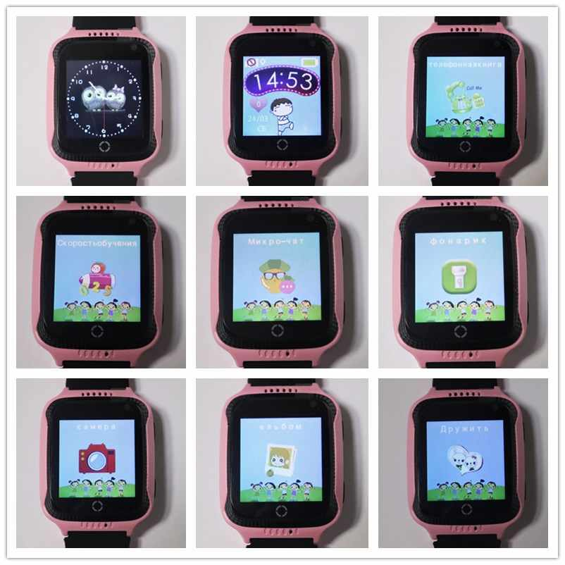 kids tracker watch Q528 Y21 Flashlight child Camera touch Screen SOS Call Location Baby Watches wristwatches Q529