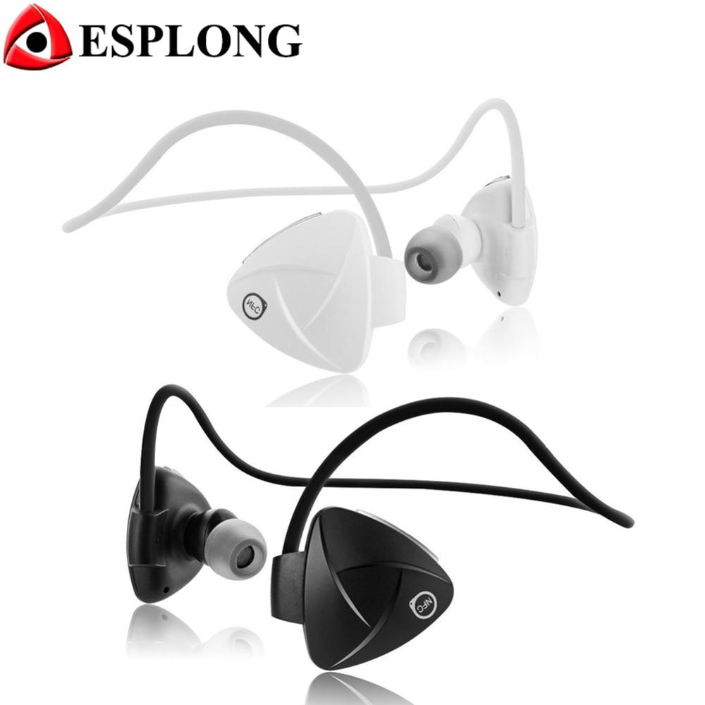 SH03D NFC Wireless Earphone Stereo Hands Free MP3 Sport Headphones Sweatproof Bluetooth Headset for iPhone 6 6s Samsung xiaomi