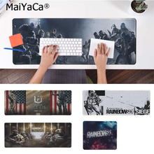 MaiYaCa Non Slip PC rainbow six siege Comfort Mouse Mat Gaming Mousepad Free Shipping Large Pad Keyboards