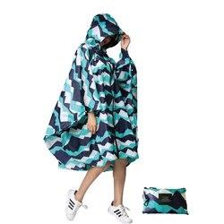 Wielofunkcyjny kolorowy unisex Outdoor Travel wodoodporny płaszcz przeciwdeszczowy typu poncho plecak pokrowiec przeciwdeszczowy jazda na rowerze w ulewnym deszczu w Płaszcze przeciwdeszczowe od Dom i ogród na