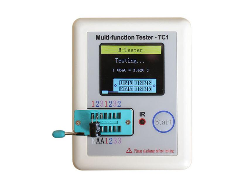Testeur de Transistor LCR-TC1 LCR-TC affichage graphique à écran couleur