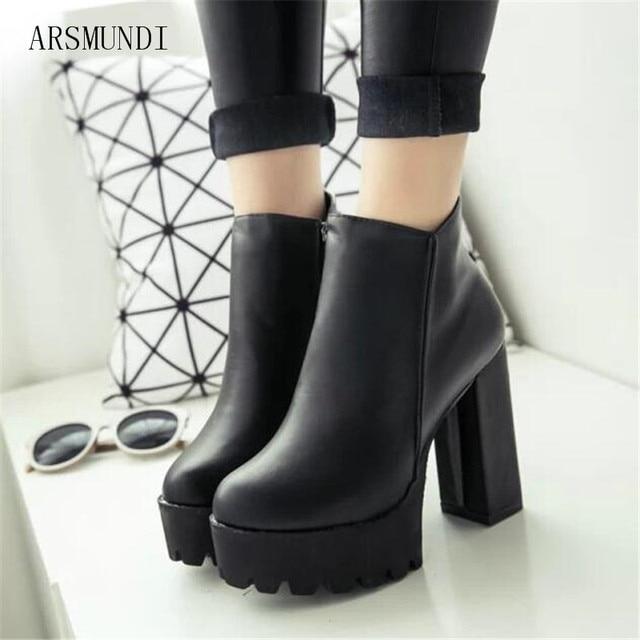 Platform Ankle Boots 2