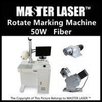 Lower Price 50W Fiber Portable 220V Input IPG Laser With DELL DESKTOP Computer Sticker Printer Machine