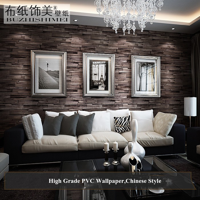 Aliexpress Com Buy Modern Wallpapers Home Decor Vintage Brick Wall Paper For Living Room Walls Pvc