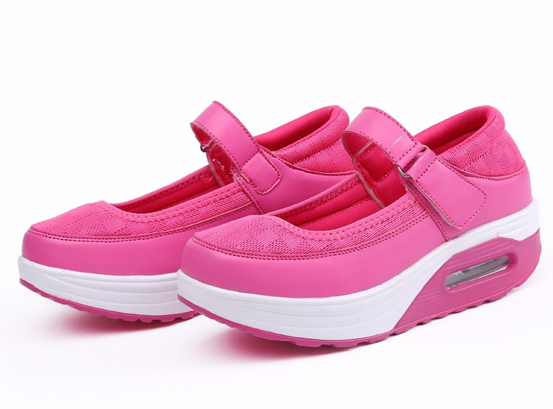 Mary Janes Style Women Casual Shoes Fashion Low Top Platform Shoes zapatillas deportivas mujer Breathable Women Trainers YD129 (44)