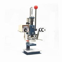 Leather bag Small hand operated hot stamping machine / Handbag Purse LOGO Trademark Transprint press Bronzing machine