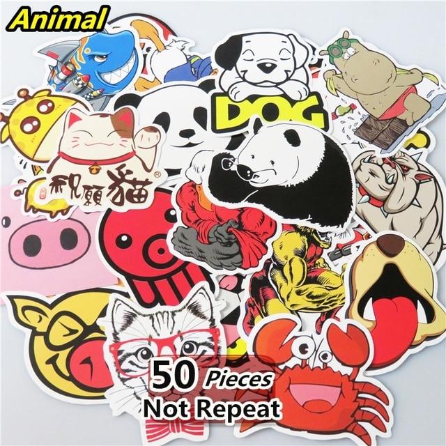 Aliexpresscom Buy Mixed PCS Animal Sticker Laptop Toy Home - Vinyl stickers for laptops