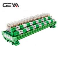 GEYA 2NG2R DPDT Relay 14 Channel Relay Module 2NO 2NC Omron Relay PLC 12V 24V AC DC