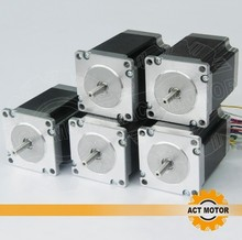 ACT Motor 5PCS Nema23 Stepper Motor 23HS8430 4-Lead 270oz-in 76mm 3.0A Bipolar CE ISO ROHS US CA UK DE FR IT FR IT JP Free