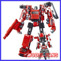 MODEL FANS IN-STOCK weijiang robot metal made  TF five fit derormation Fire warrior 30cm high  freeshipping