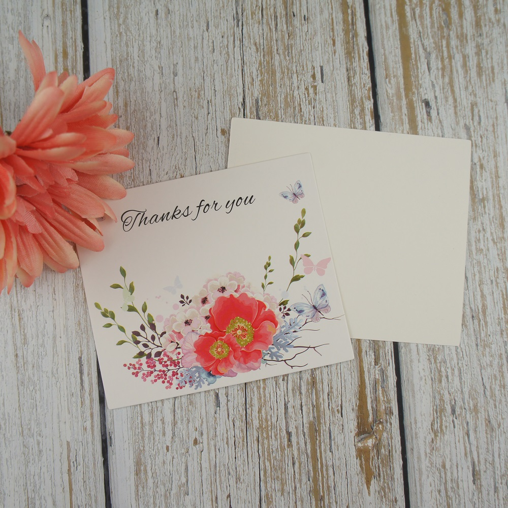 50pcs flowers are blooming card multi use scrapbooking