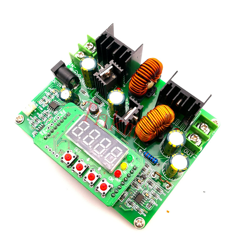 D3806 CNC DC Regulated Constant Current Power Supply Adjustable Voltage and Voltage and Current Meter 38V6A Charger solar energy wind power regulator charging automatic buck voltage constant voltage constant current adjustable power supply
