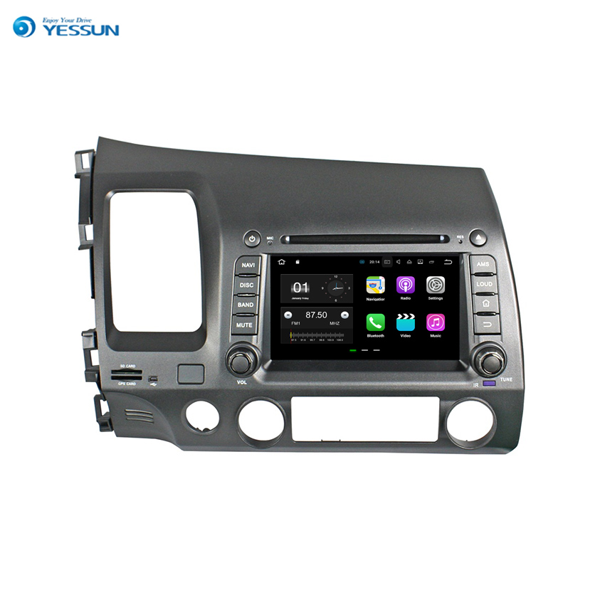 YESSUN 2 din Android Für <font><b>Honda</b></font> <font><b>Civic</b></font> 2006 ~ 2011 Auto Navigation GPS Multimedia Audio Video <font><b>Stereo</b></font>-Player. image