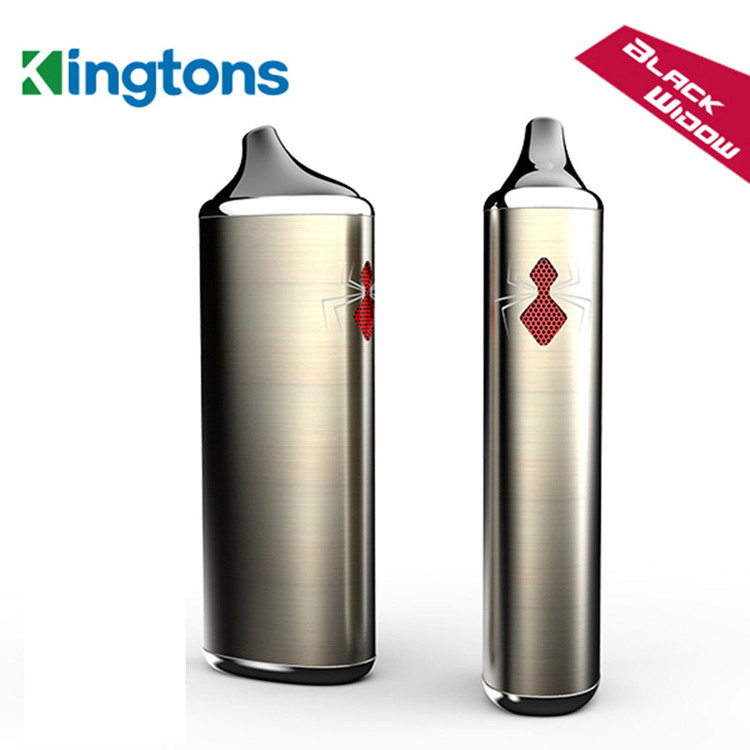 black window kingtons herbal vaporizer electronic cigarette kit detail