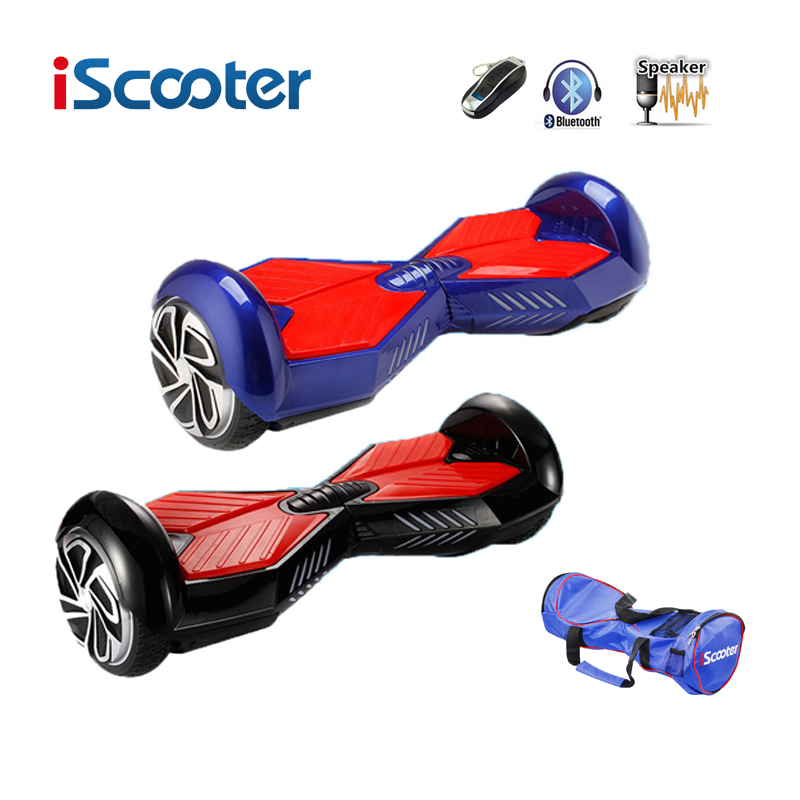 IScooter Hoverboard 6 5 Inch Bluetooth 2 Wheel Self Balancing Electric Scooter Smart Wheel With Remote