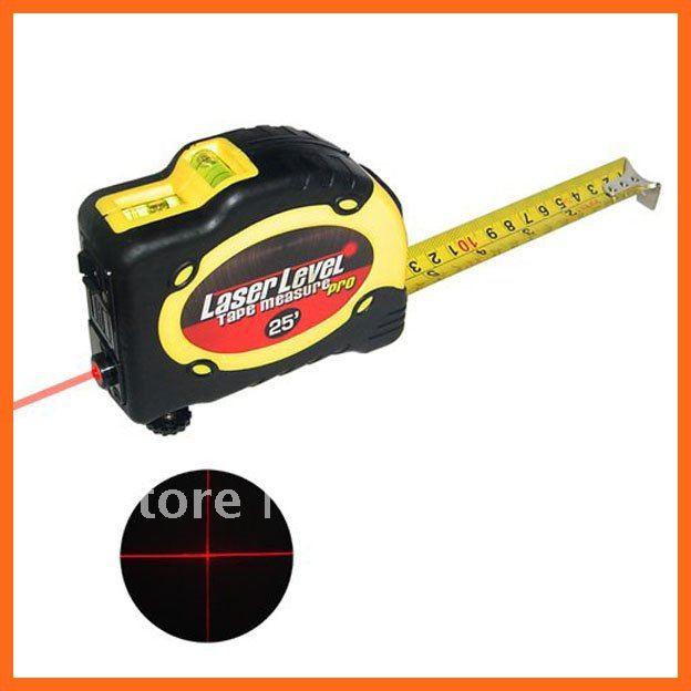 3 In 1 Mini Laser Level Tape Measure Kit In 7 5 Meter Or