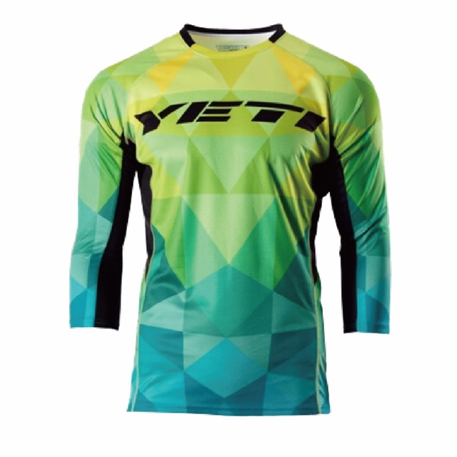 NEW for yeti Downhill Jersey Mountain Bike Motorcycle Jersey Crssmax Shirt  DH MX Jersey 041406edc