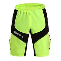 WOSAWE Men's Outdoor Sport Shorts MTB Road Cycling Motocross Baggy Running Hiking Basketball Fitness Shorts