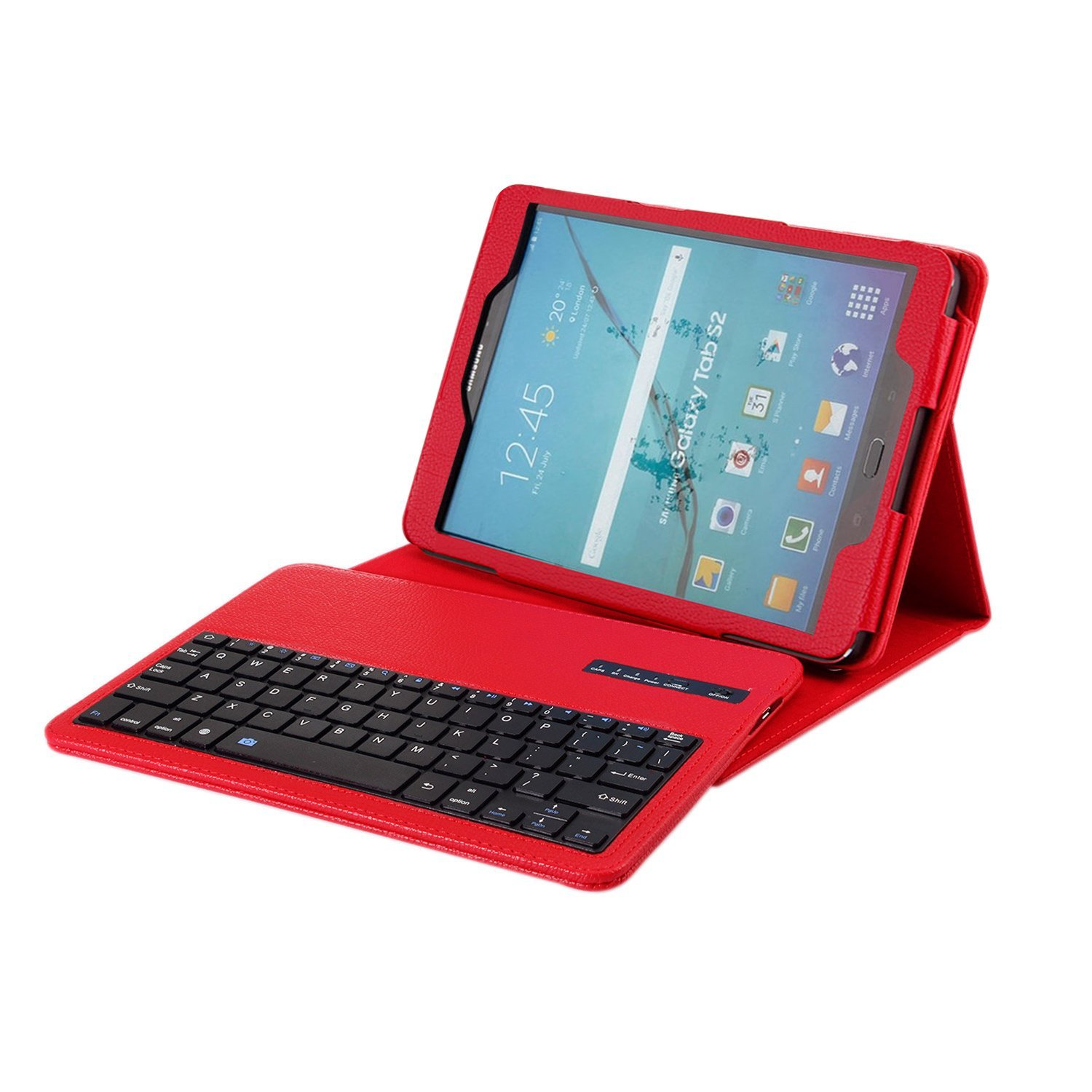 for Samsung Galaxy Tab S2 9.7 Removable Wireless Keyboard Case Cover for Galaxy Tab S2 9.7 SM-T810 / T813 / T815 / T819 Tablet 4v420 15 fsqd solenoid valve ordinary type electromagnetic valve pneumatic component air tools