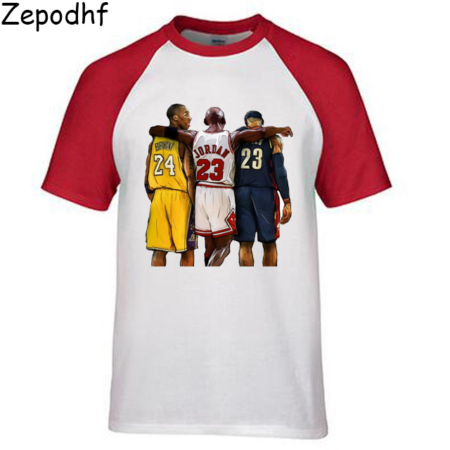 half off 8179e aa64a Novelty Lebron James Lakers T Shirt 23 James Man Round ...