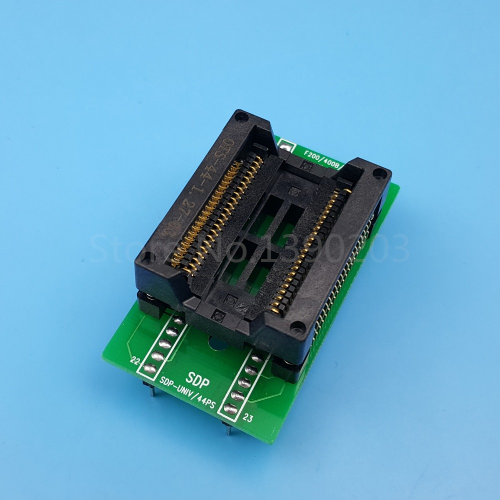 SOP44/SOIC44/PSOP44 To DIP44 Chip Programmer Adapter IC Test Socket ConverterSOP44/SOIC44/PSOP44 To DIP44 Chip Programmer Adapter IC Test Socket Converter