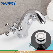 GAPPO basin faucets chrome mixer faucet for bathroom sink waterfall tap torneira tapware