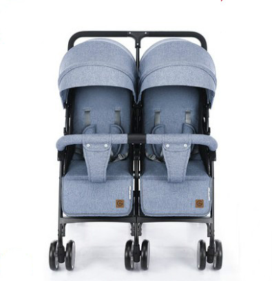 Twin baby strollers can sit and lay baby stroller folding shock absorber stroller