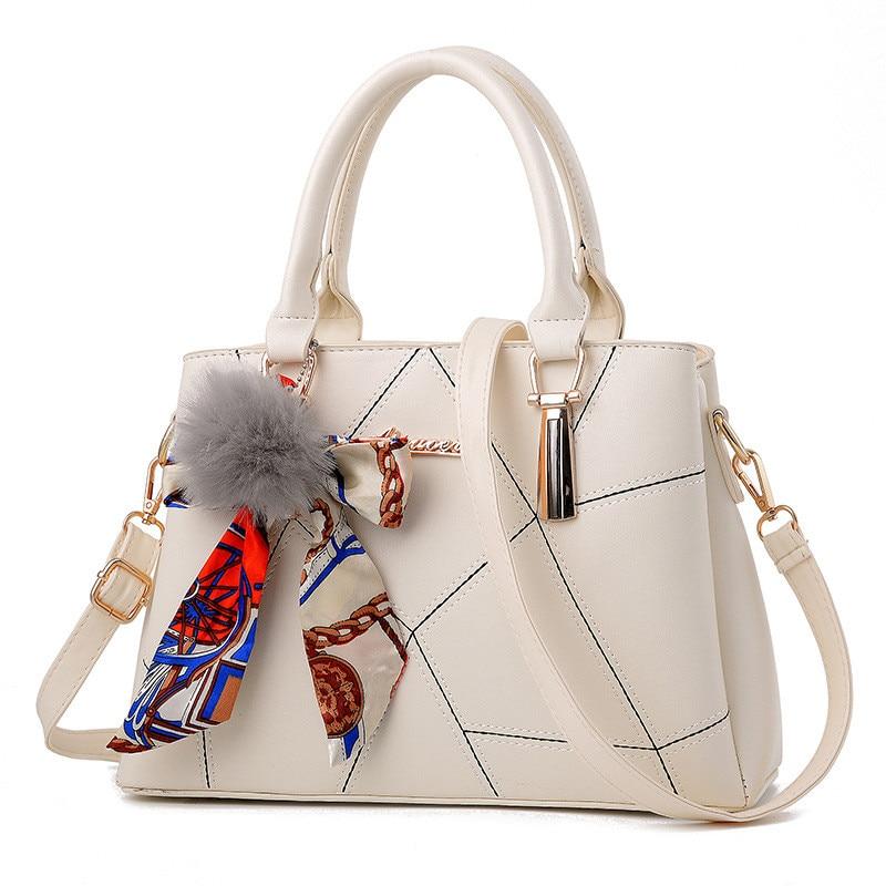 Women Bag Designer New Fashion Casual Women's Handbags Luxury Shoulder Bag High Quality PU Brand Sweet Lady Tassel Korean Style