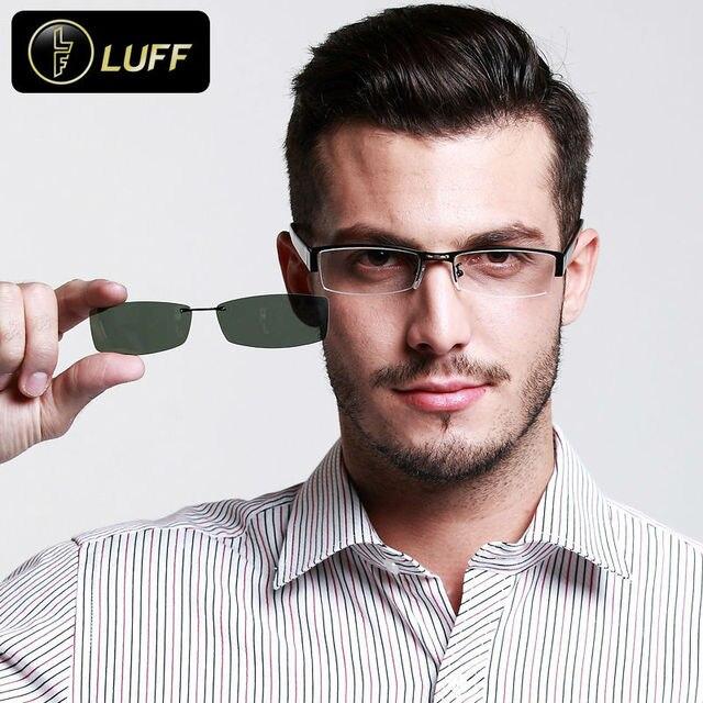 Новые очки кадров для степень очки Мужская оправа для очков Поляризованные  солнцезащитные очки клип мужской степень e0db1d2b1f6