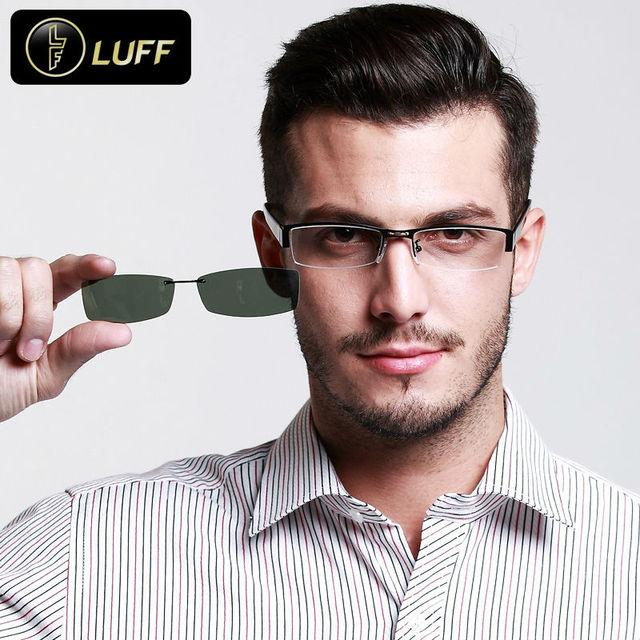 bd53f2d2f273b Novos Óculos moldura para o grau de óculos armação de óculos dos homens grau  de óculos