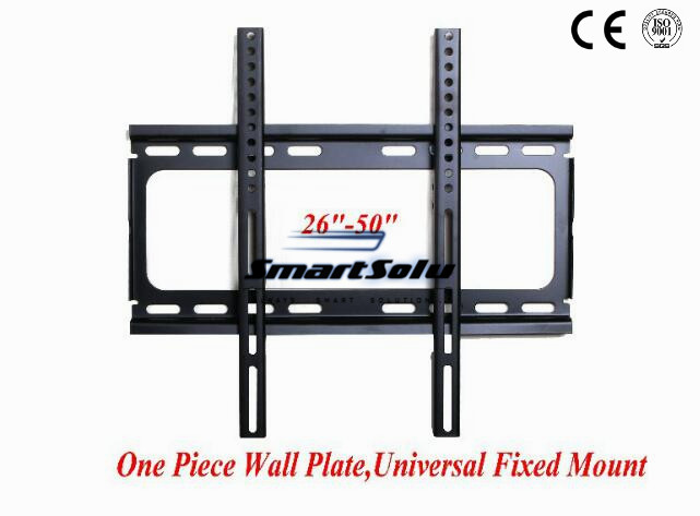 Free shipping  Universal Flat Panel Fixed LCD LED Mount 26 50inch Tv Mounting Bracket free shipping 10pcs fgpf4536 common lcd tv
