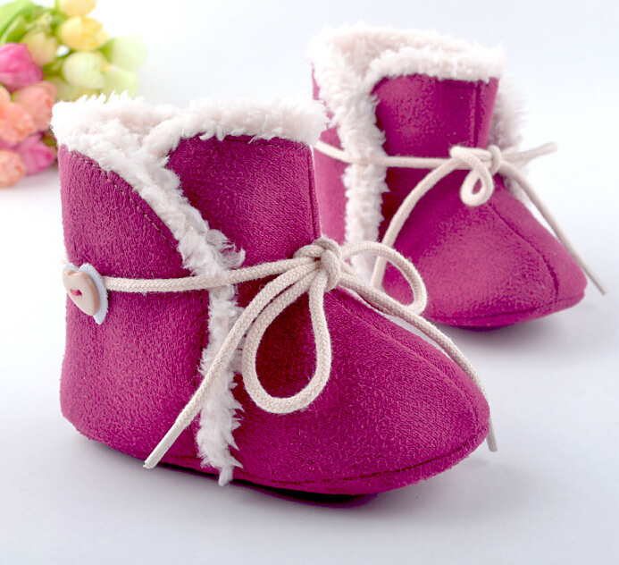 Online Shop Newborn Baby Girls Bowknot Shoes Soft Crib Shoes ...