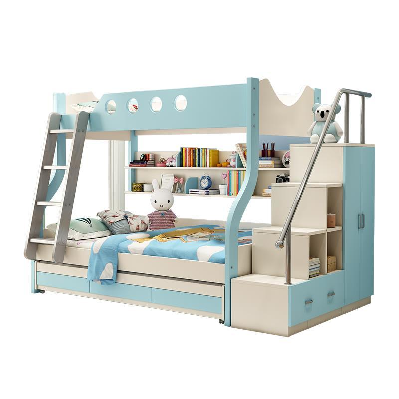 Tidur Tingkat Home Single Meuble Maison Mobili Meble Frame Moderna bedroom Furniture Mueble De Dormitorio Cama Double Bunk Bed
