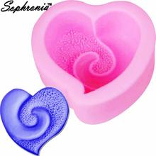 Sophronia love Мыло силиконовая форма сердце для свадебного