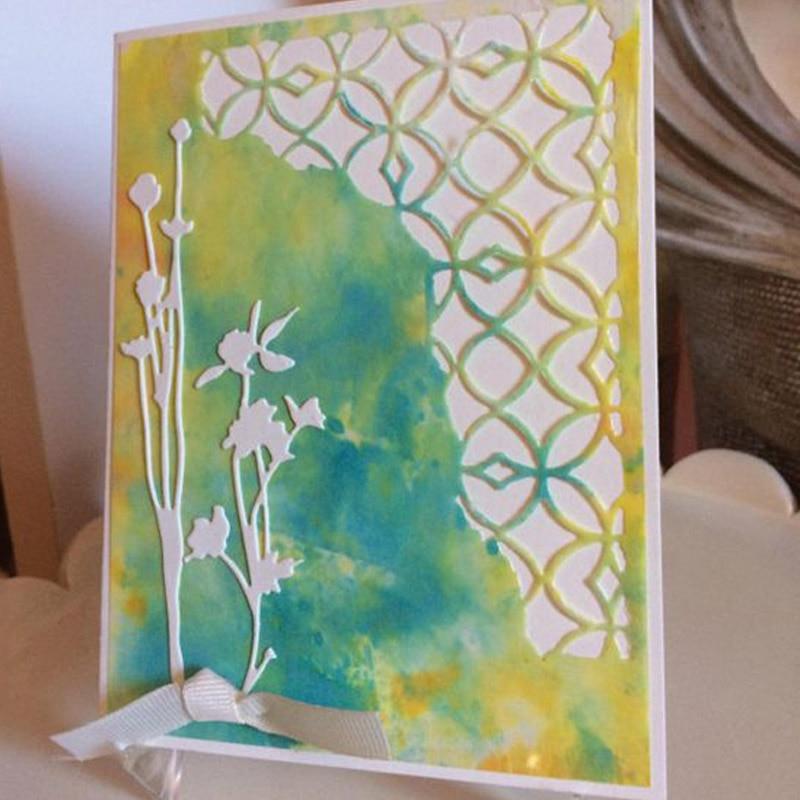 Beautiful flower Carbon steel Cutting Dies Stencil Craft for DIY Creative Scrapbook Cut Stamps Dies Embossing Paper Hand Craft