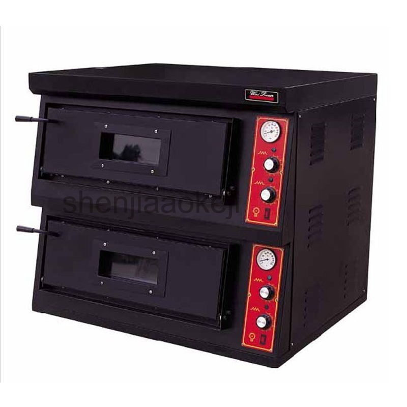 Commercial Electric Pizza Oven DR-2-4 High quality Pizza oven 2-layers pizza ovens Western kitchen roaster stove 220v/3n-380v three groups of kebab ovens commercial electric oven machine