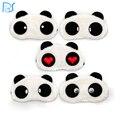 Panda de Ojos Para Dormir Máscara de Ojo Sombra Cubierta Blindfold Del Sueño de Los Ojos de Dibujos Animados Siesta del Recorrido el Dormir Resto Patch Blinder