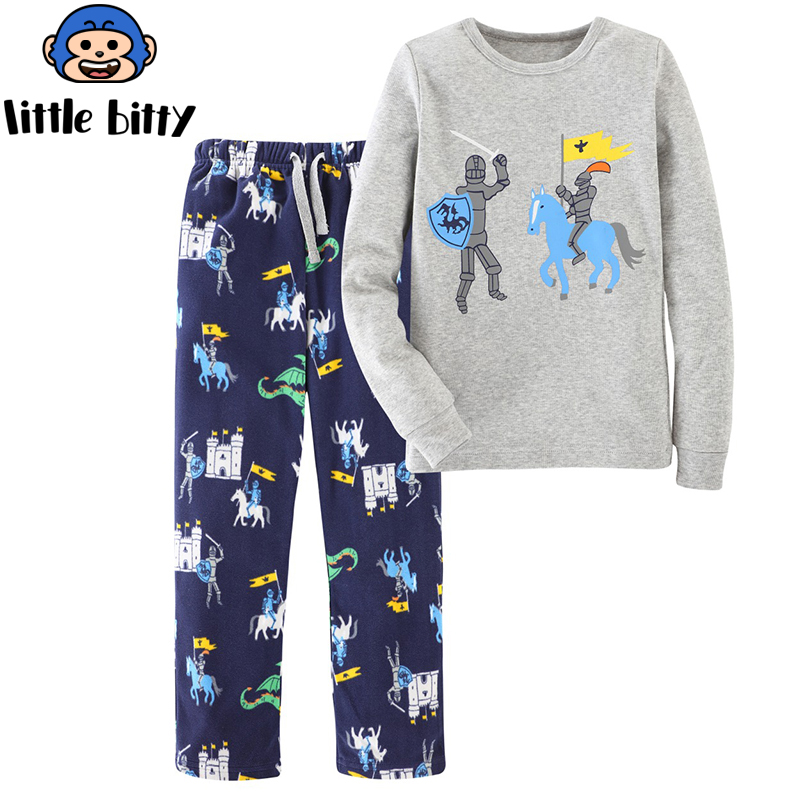 Girls Sets 100% Cotton Long Sleeve Tops +Pants 2017 Brand Spring Autumn Children Clothing Sets Girls Clothes Kids Outfits