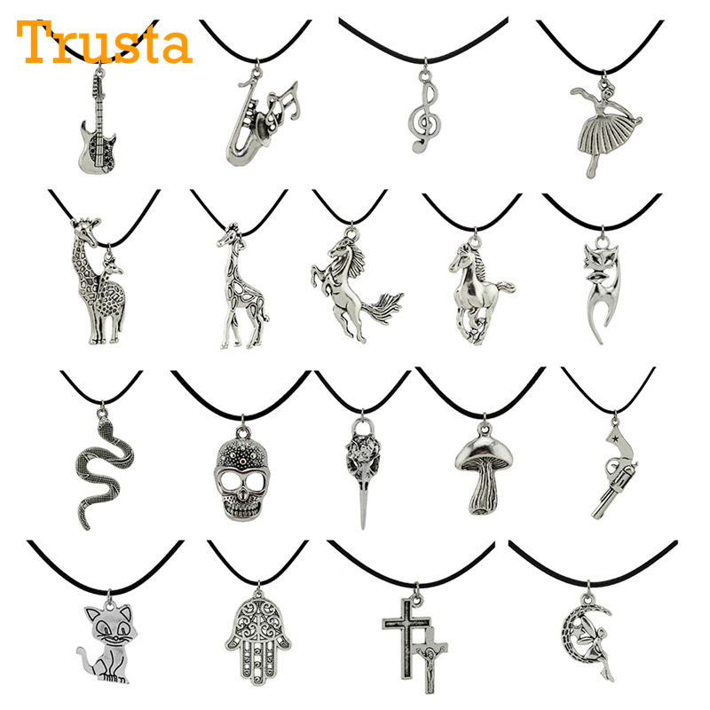 Trusta 2017 Fashion Jewelry Vintage Silvs