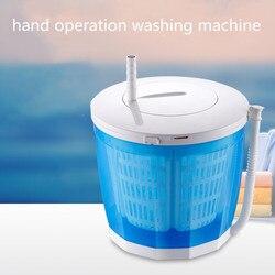 Hand-betrieben Manuelle Halbautomatische Kleidung Waschmaschine Hostels Mini Washer für Restaurant Gemüse Obst Camping Reinigung