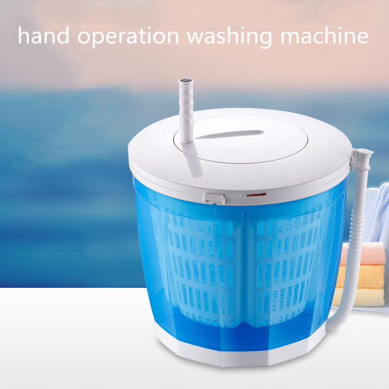 Hand Operated Manual Semi Automatic Clothes Washing Machine Hostels Mini Washer For Restaurant Vegetables Fruit Camping Cleaning Washing Machines Aliexpress