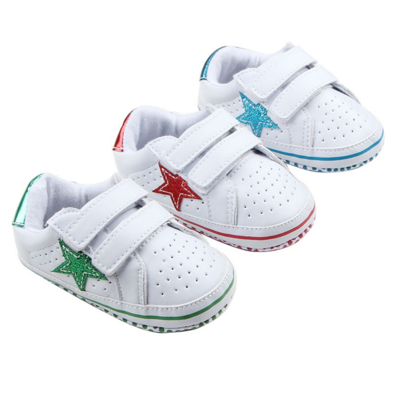 Baby PU Leather First Walkers Moccasins Newborn Baby Shoes Sneakers Infant Indoor Crib Shoes