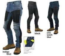 pk719 summer motorcycle pants drop resistant net fabric asbeston casual automobile race pants motorcycle jeans