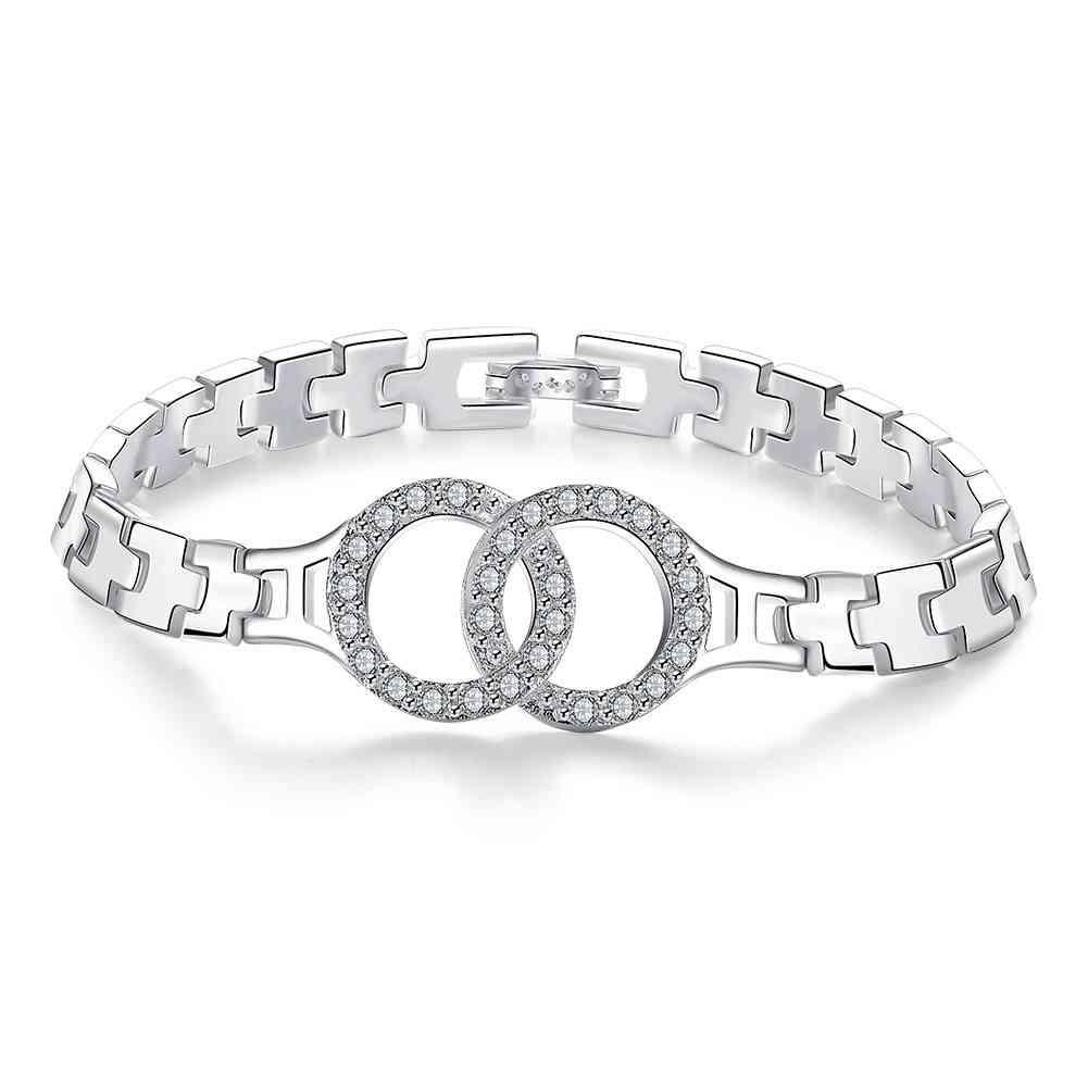 Envío Gratis aliexpress pulseras de plata amp Insets brazaletes Relojes brazaletes pulseras mujer Bisutería SMTH415