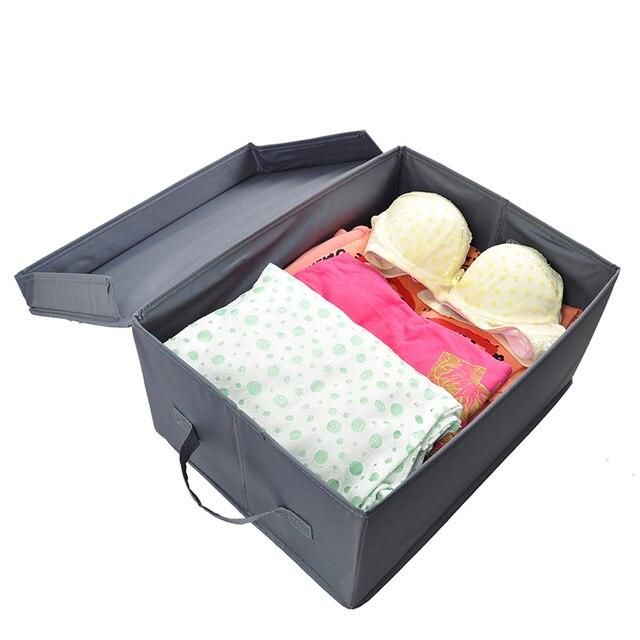 New Ikea Clothes Storage Bins Wardrobe Household Items Organizador De Gaveta Underwear Ties Drawer Closet Home