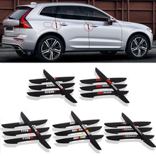 4 STUKS Auto Deur Anti-collision Bumper Strip Guards Side Protector Sticker voor Renault Honda Mugen Nismo Type R mitsubishi RalliArt(China)