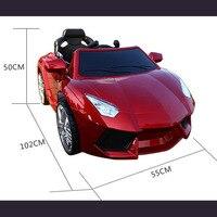 Новый Детский электромобиль автомобиль езды на четырех колесах дистанционного управления игрушечный автомобиль дети езды на игрушки свет