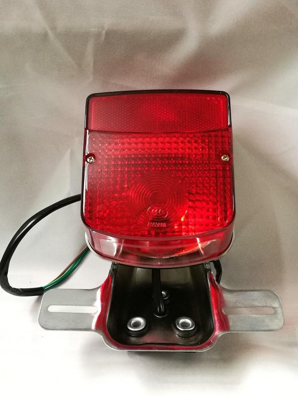 NOVÉ TAIL LIGHT / LAMP ZADNÍ SVĚTLO / BRZDOVÉ SVĚTLO JEDNOTKA KOMPLETNÍ KVALITA OEM pro GN125 GN 150