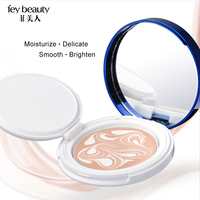 Fey Beauty Pressed Powder Bb Cushion Cream Essence Water Light Moisturize Foundation Cream Po Face Concealer Makeup Studio Pact